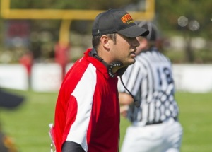 Offensive Coordinator Todd Galloway Photo: Gryphon Athletics