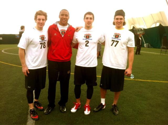 Jedd Gardner, Saxon Lindsey, Carl Trivieri and Dillon Dimitroff at NIC - Mar 22/13
