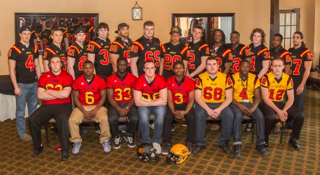 2013 Guelph Gryphons Football Recruiting Class Group Photo