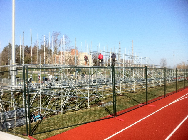 New stands for Alumni - April 25/13