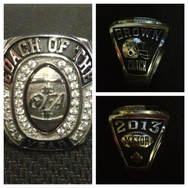 Coach of Year ring