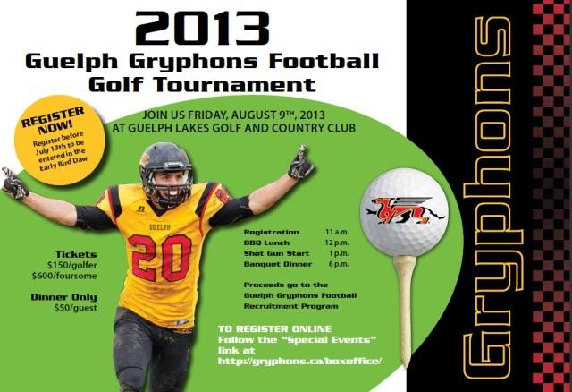2013 Golf Tourney