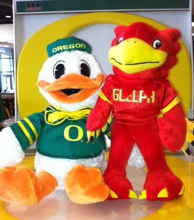 Oregon Duck with Gryph