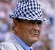 "Legendary Alabama Coach Paul ""Bear"" Bryant"