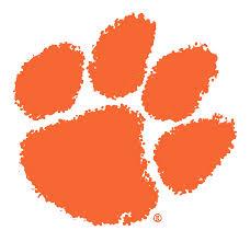 Clemson tiger paw logo