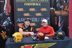 OL recruit Duncan Curren signs his LOI with Coach MacDonald