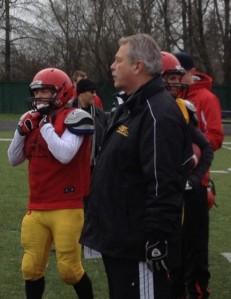 RB Coach Neil Lumsden