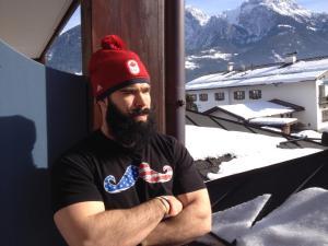 Olympic bobsledder Tim Randall