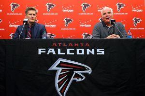 GM Dimitroff & HC Mike Smith Photo: AJC