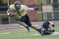 Rec recruit Quincy Reid in the Steel City Bowl Photo: thespec.com