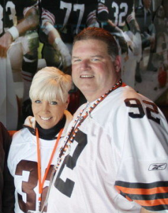 Gryphon Alumnus Dave Johnson and his wife Pat Photo: John Kuntz/Plain Dealer