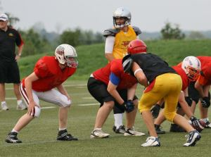QB James Roberts at Gryphon Elite High School Camp