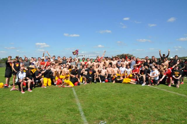 team photo Florida camp