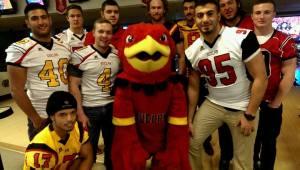Gryphons giving back at Bowl for Kid's Sake