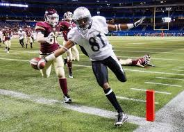 Trey Gervais scores game winning TD in 2012 Golden Horseshoe Bowl