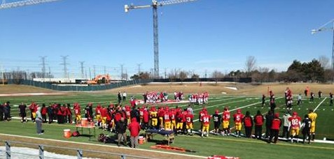 Scrimmage at York U