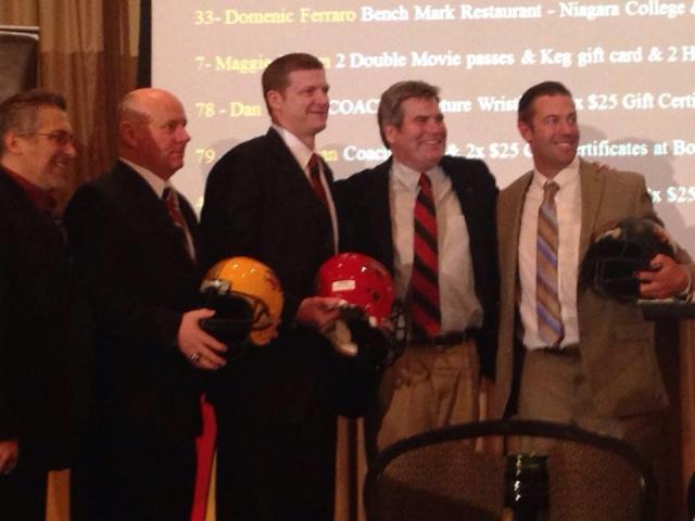 (L-R) Randy Dimitroff, Pat Tracey, Mike O'Shea, Stu Lang & Kyle Walters
