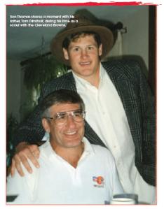 Tom Dimitroff Sr with son Thomas
