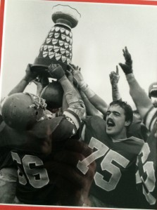 Rick Kohler #75 with Yates Cup