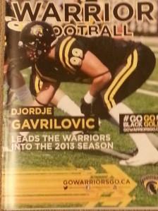 UW 2013 Cover boy Djordje Gavrilovic