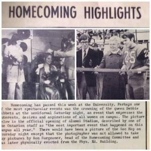 Homecoming 1970