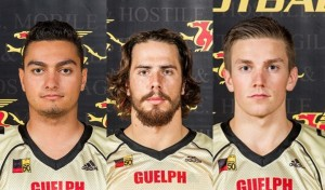 Players of the Game - Daniel Ferraro, Curtis Newton and James Roberts