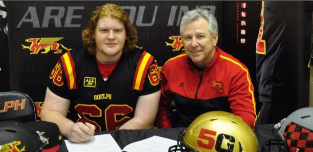 OL recruit Greg Corfield signs LOI