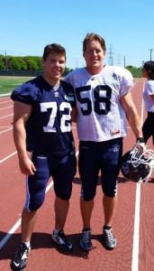 Dan MacDonald & Jake Reinhart at Argos camp
