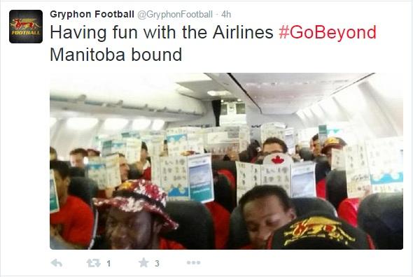 Manitoba bound Gryphons