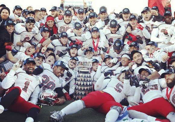 108th Yates Cup Champion Guelph Gryphons