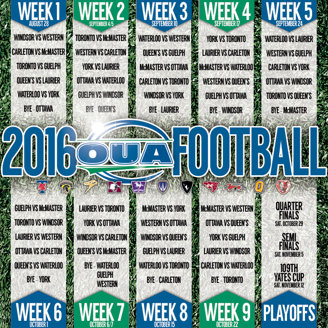 2016 OUA sched